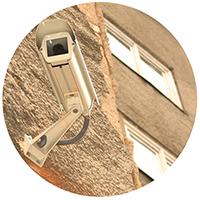 cámaras anti vandálicas visibles